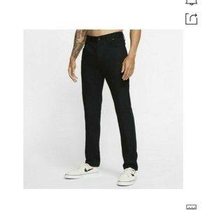 Hurley Black Storm Cotton Men's Pants In Bl…